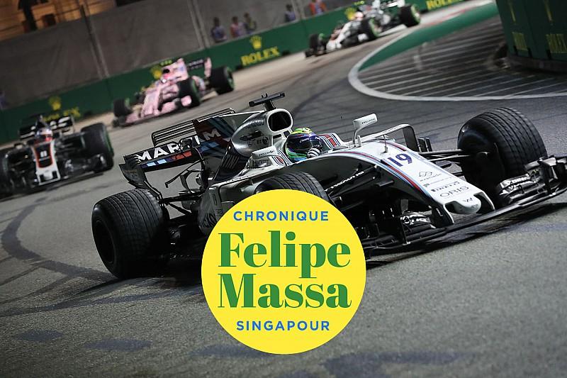 Chronique Massa - Vettel a été trop vigoureux au départ