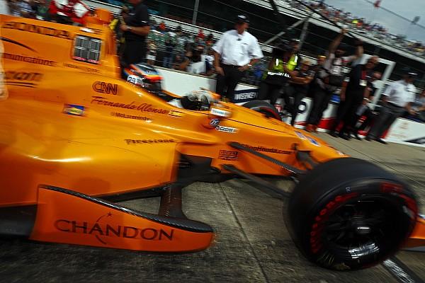 IndyCar BRÉKING A McLaren szponzorai kárpótlásként vannak Alonso indy 500-as autóján