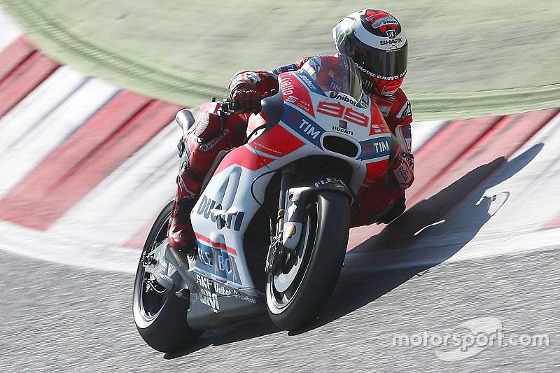 """Lorenzo: """"La Ducati está para ganar aquí"""""""