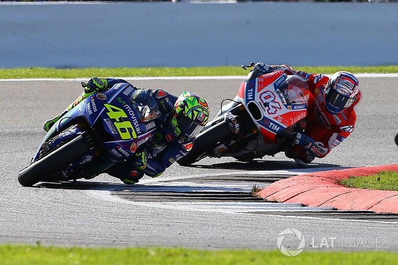 """Chegou o momento de Dovizioso"", diz Rossi"