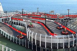Auto Actualités Un navire avec une piste de karting Ferrari !