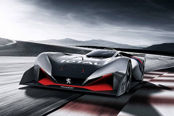 Virtual Breaking news Peugeot luncurkan sportscar virtual L750 R HYbrid Vision GT