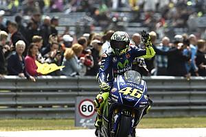 MotoGP Breaking news Rossi: 10th Assen win means title race