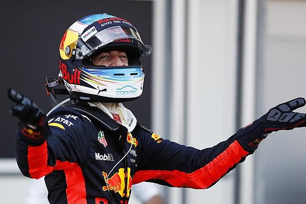 Formel 1 Rennbericht Formel 1 in Baku: Daniel Ricciardo gewinnt Chaosrennen vor Bottas