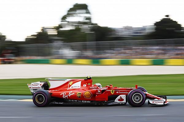 F1 in Melbourne: Kimi Räikkönen schaffte