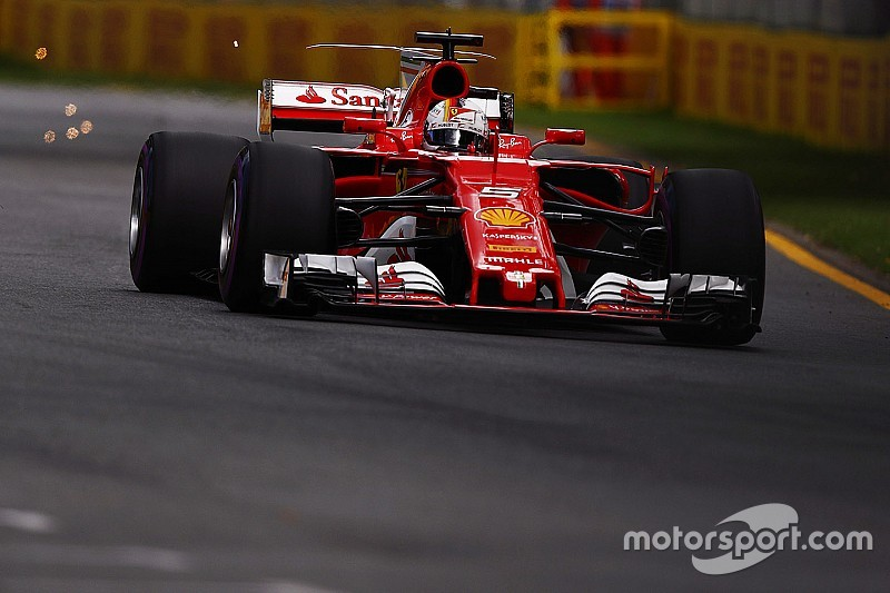 """Vettel : """"Je ne pense pas que la pole était à notre portée"""""""
