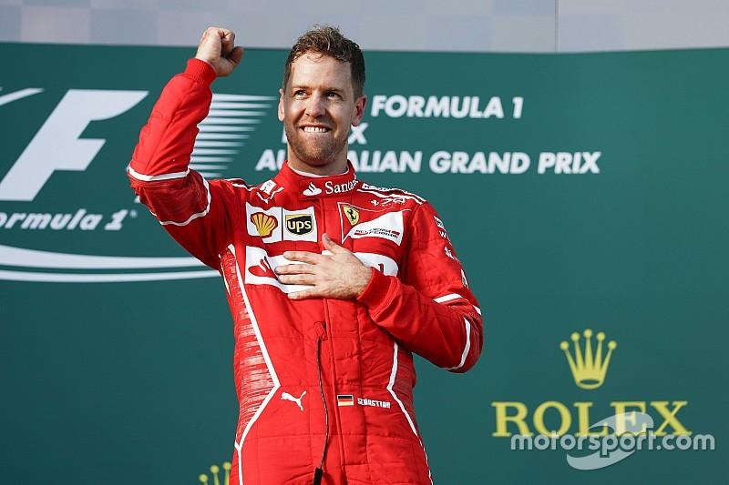 Прошлогодние тесты Pirelli помогли Феттелю победить в Австралии