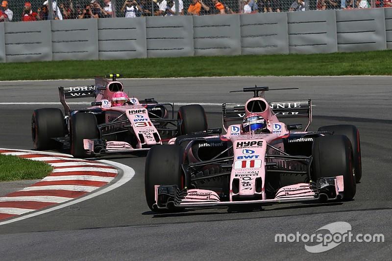 Force India aurait dû décider de l'inversion des positions plus tôt