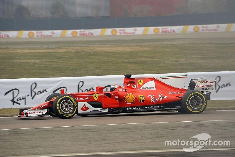 Im Ferrari SF70H: Kimi Räikkönen unterbietet persönliche Bestzeit