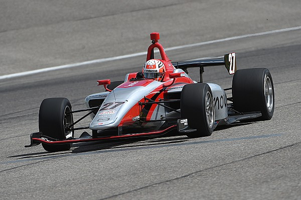 Indy Lights Jamin tops Indy Lights field in Spring Training
