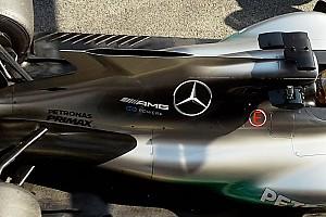 Formula 1 Analisi Mercedes: c'è una grande fessura sopra alla pinna da squalo!