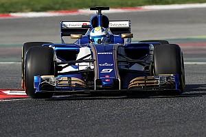 Nieuwe Sauber maakt eerste meters op Circuit de Catalunya (met video)