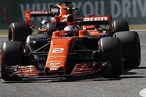 Forma-1 Jelentés a versenyről A McLaren megint lebőgött