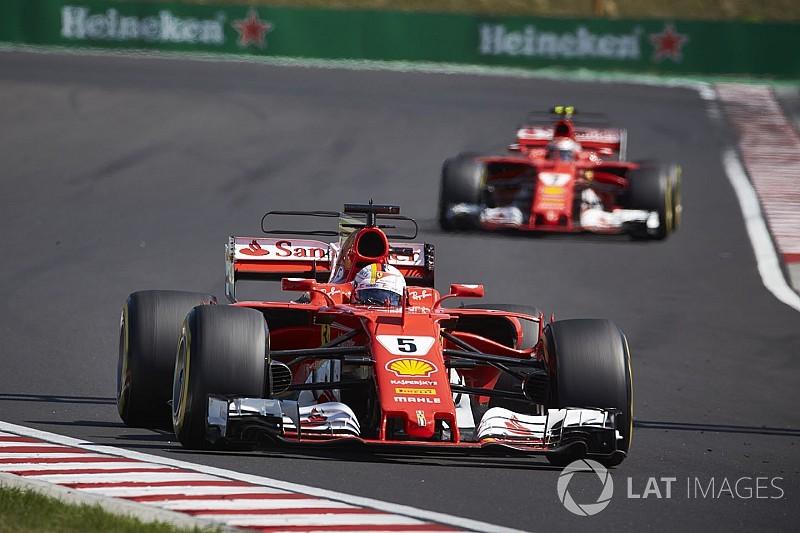 """Vettel: """"I rivali copiano la Ferrari e questo è un buon segno"""""""