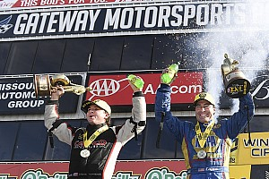 NHRA Race report Torrence, Capps take their eighth wins of the year at Gateway