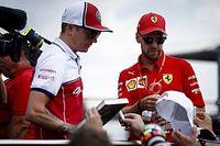 Raikkonen: Ferrari no tratará diferente a Vettel