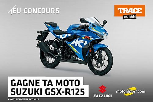 Jeu Concours - Tentez de gagner une moto Suzuki avec Trace TV