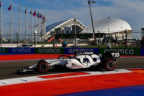 Volledige uitslag derde training F1 Grand Prix van Rusland