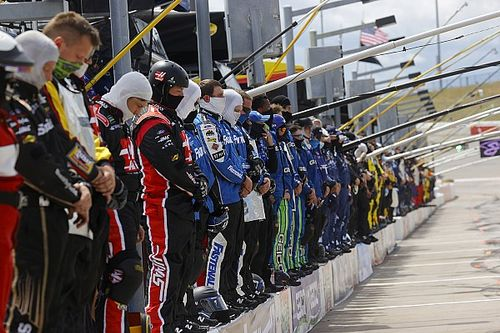 NASCAR holds moment of silence to address racial injustice