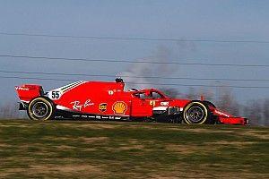 Vidéo - Sainz au volant de la Ferrari à Fiorano