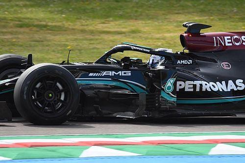"""Bottas suma más de 100 vueltas en Imola con los Pirelli de 18"""""""