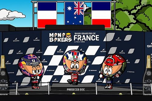 Vídeo: el resumen del caótico GP de Francia de MotoGP, por Minibikers