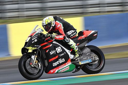 Aleix Espargaro 'more frustrated than ever' at Le Mans MotoGP DNF