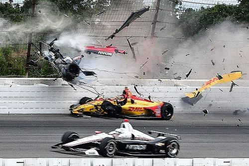 Top Stories of 2018, #3: Wickens' Pocono crash rocks IndyCar