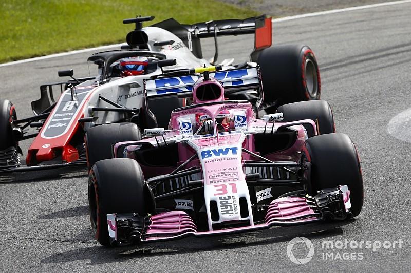 Haas explicó la razón de su protesta sobre Force India
