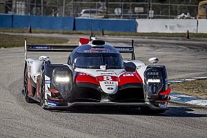 Toyota, Sebring WEC testinde 4000 km'nin üzerinde mesafe tamamladı