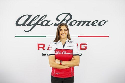 Tatiana Calderón: La F2 clave para el siguiente paso con Alfa Romeo