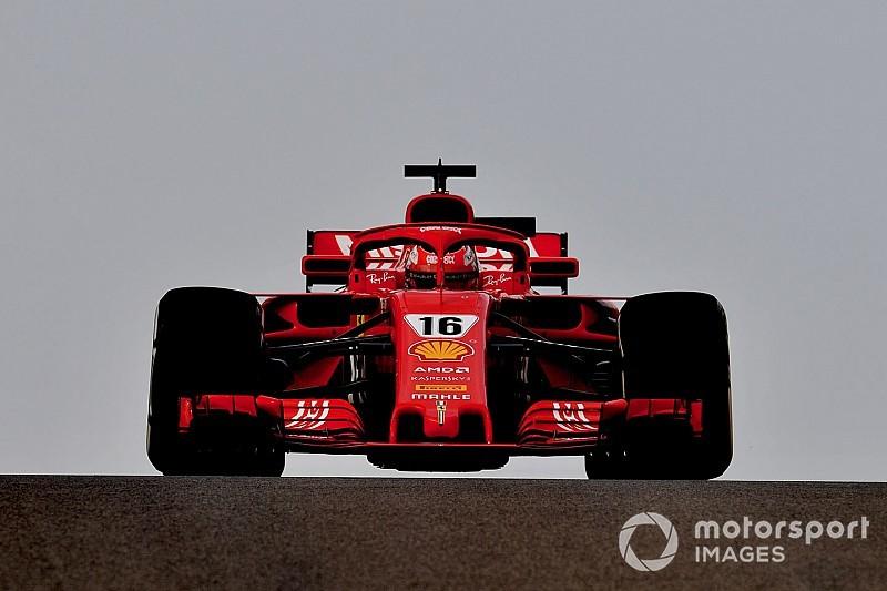 Leclerc place Ferrari en tête à la mi-journée