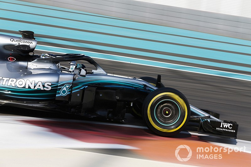 Bottas sets pace as Abu Dhabi F1 test kicks off