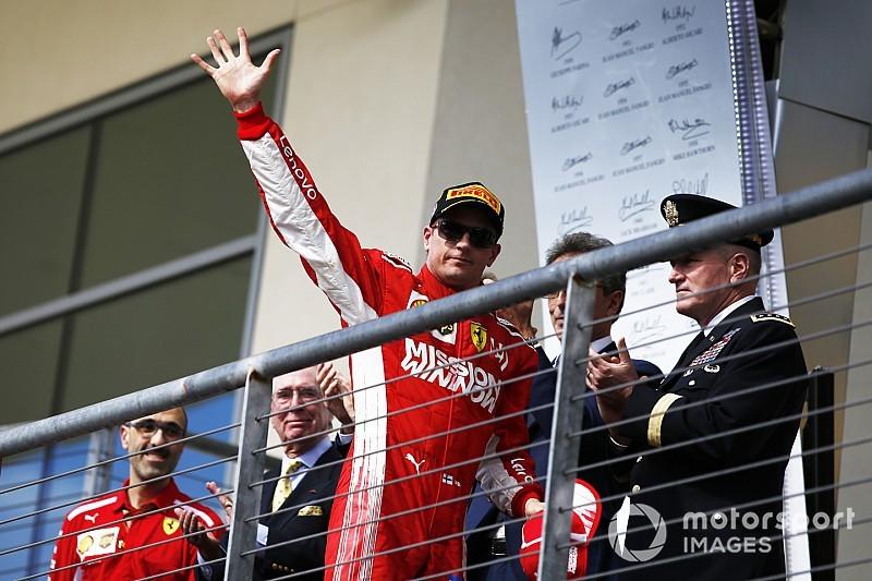 Kimi Räikkönen: Kater nach Siegerparty dauert mit 39 länger