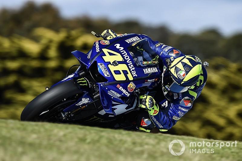 Septième, Rossi pense qu'il aurait fait mieux sans la pluie