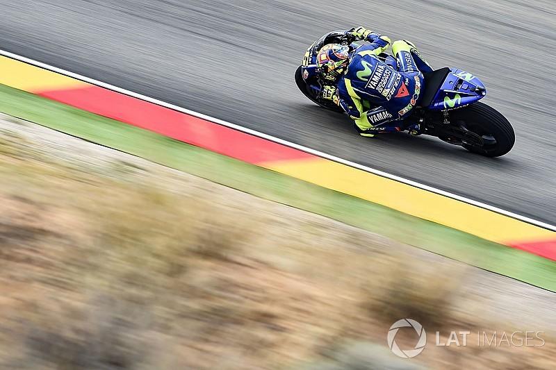Rossi: pozitív péntek volt, de várjuk meg a száraz pályát