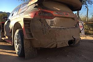 WRC Ultime notizie Appello di Ostberg su Twitter per ritrovare il diffusore perso nella PS10