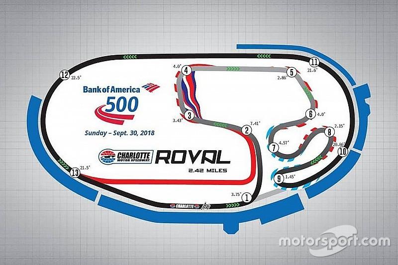 Cambios notables en el calendario de NASCAR en 2018