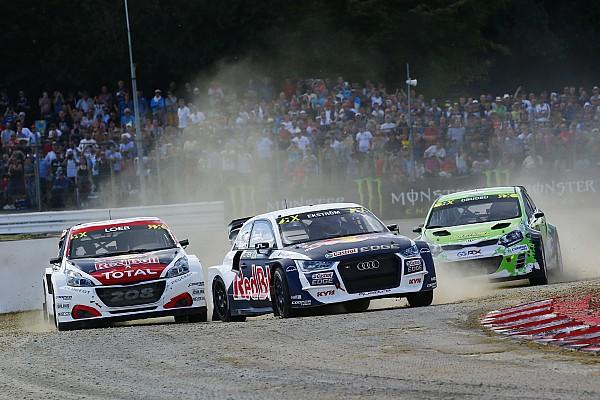 WRX Loheac: Mattias Ekström zurück auf dem Podium