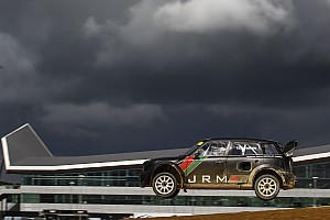 Rallycross-WM News Silverstone präsentiert Rallycross-Strecke für WRX-Saison 2018