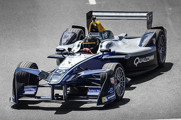 Patrick Carpentier effectue un court essai en Formule E