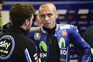 Valentino Rossi hospitalisé après un accident à l'entraînement