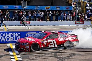 NASCAR Cup Rennbericht NASCAR-Hitzeschlacht in Phoenix: Ryan Newman staubt Sieg ab