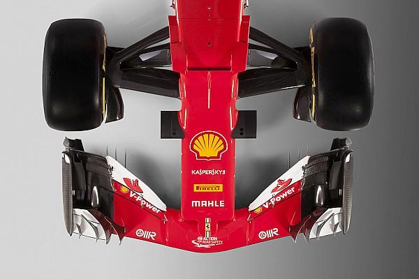 Formula 1 Analisi Ferrari SF70H vs SF16-H: confrontate la vista frontale e dall'alto