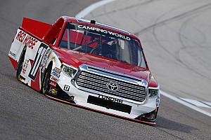NASCAR Truck Interview Could underfunded Peters beat Truck titans to the championship?