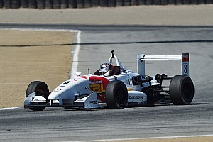 USF2000 Race report Franzoni wins race, Martin takes the title
