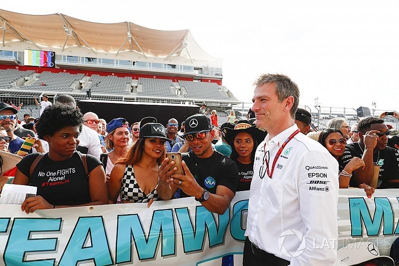 Еллісон: Мені пощастило працювати в Mercedes