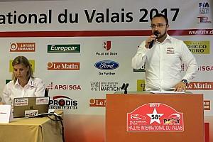 Rallye suisse Conférence de presse L'édition 2017 du Rallye du Valais s'annonce très prometteusef