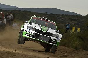 Škoda ne privera pas Rovanperä d'une opportunité en WRC