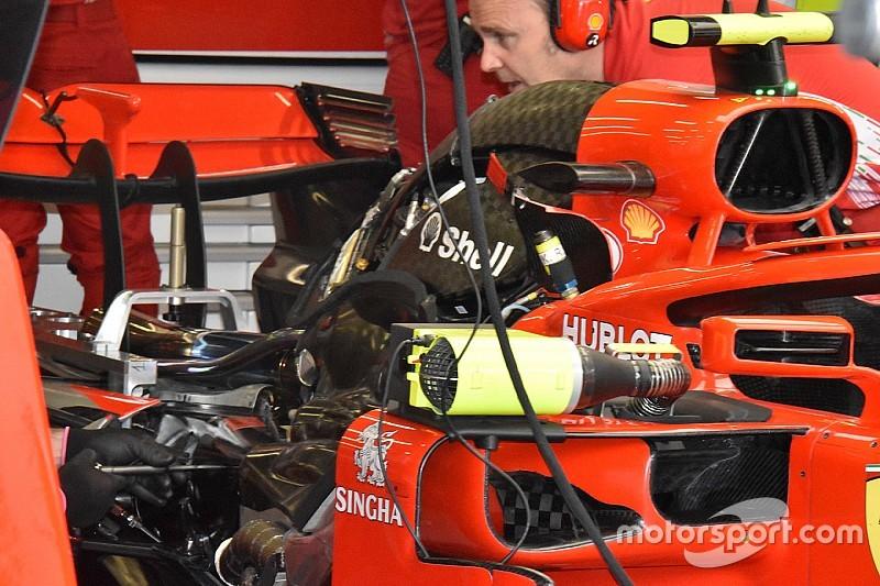 El segundo motor de Raikkonen en España no se rompió